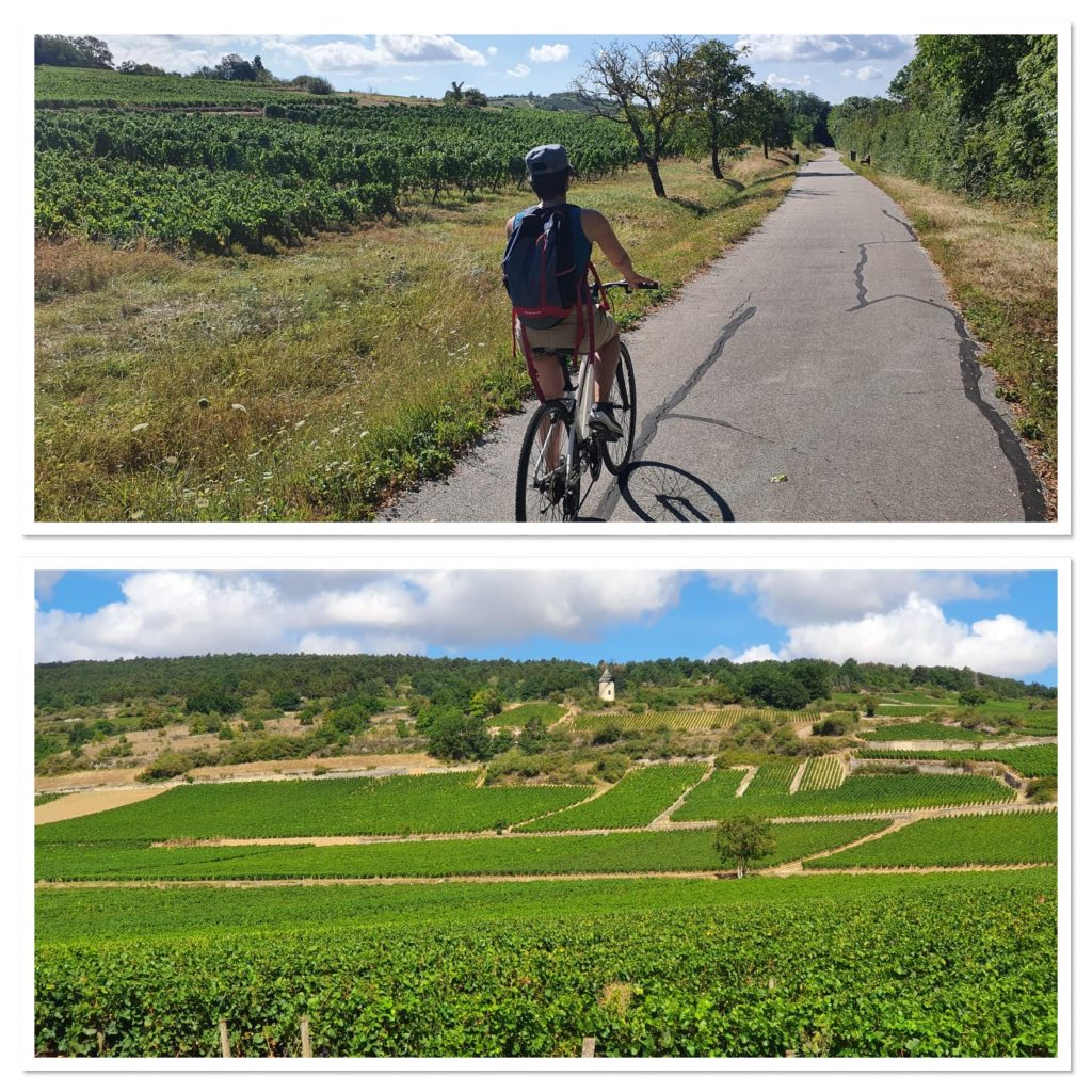 La Bourgogne en Vélo