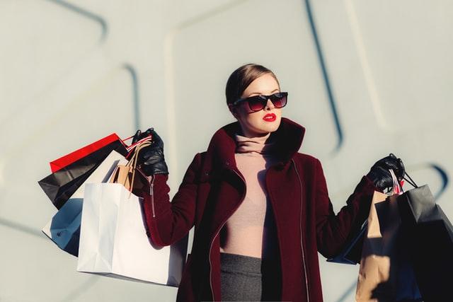 Shopping addict