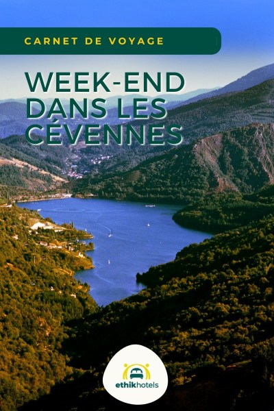 weekend cevennes - Magnifique vue sur un lac dans les Cévennes entouré de montagne