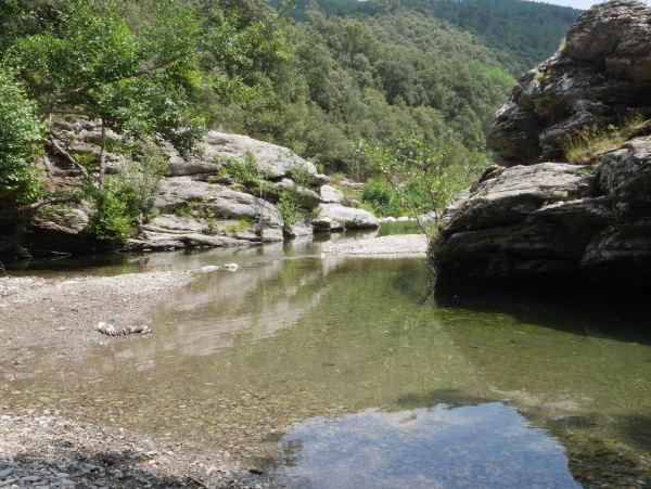 point d'eau en Cévennes