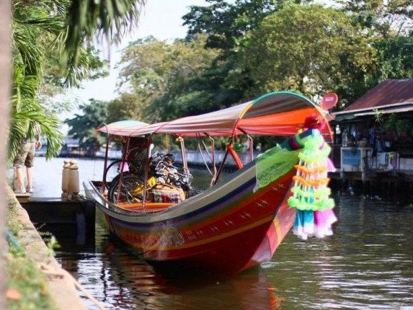 bateau à Bangkok