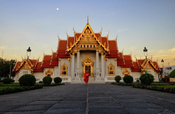 Wat Benchama Bophit, grand temple bouddhique