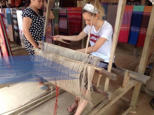 technique de tissage traditionnel