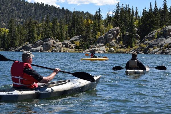 Activité Kayak à plusieurs