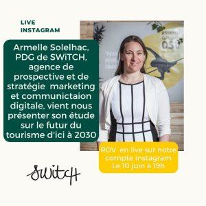 Invitation live instagram avec Armelle Solelhac