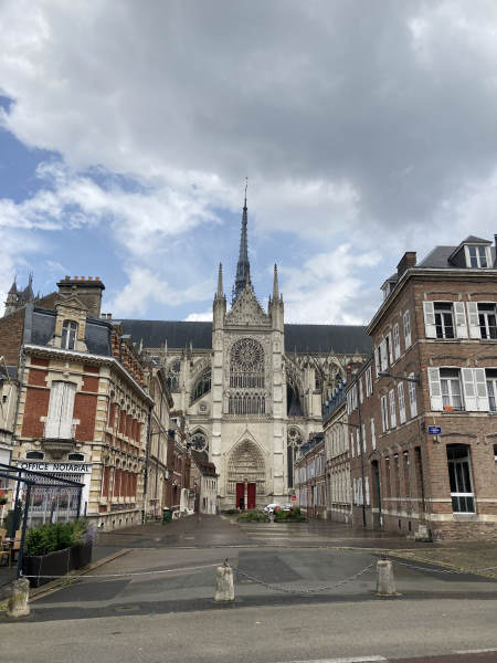 Old amiens - cathedral
