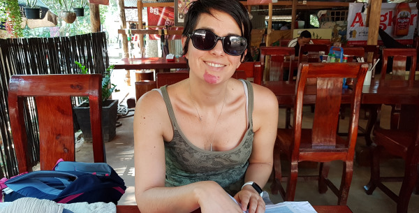 Anne Chéné - Fondatrice Ethik Hotels - photo prise au Cambodge